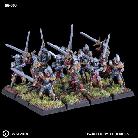 98-0303:  Chaos Acolytes with Great Swords Regiment Set