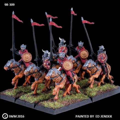 98-0309:  Chaos Hexatrix Cavalry Regiment Set