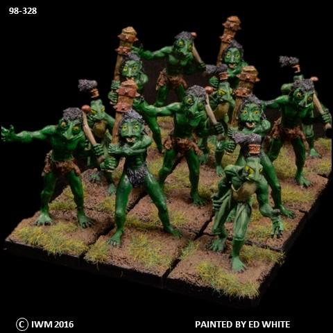 98-0328:  Lesser Trolls Regiment Set
