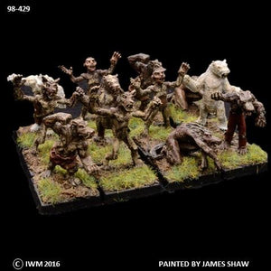 98-0429:  Lycanthropes Regiment Set