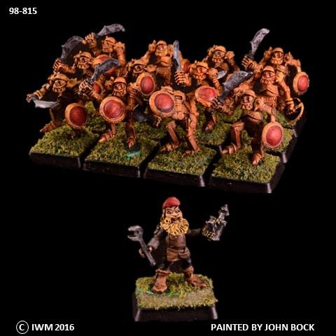 98-0815:  Dwarf Automatons & Engineer  Regiment Set
