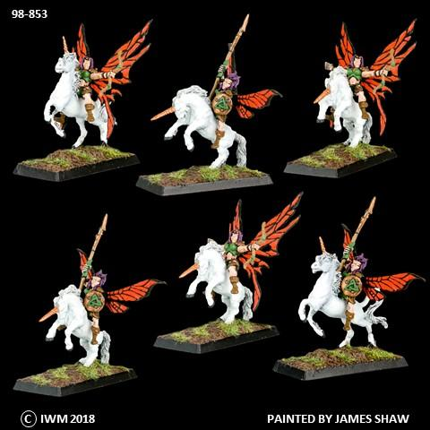 98-0853:  Fairy Warrior Cavalry Regiment Set