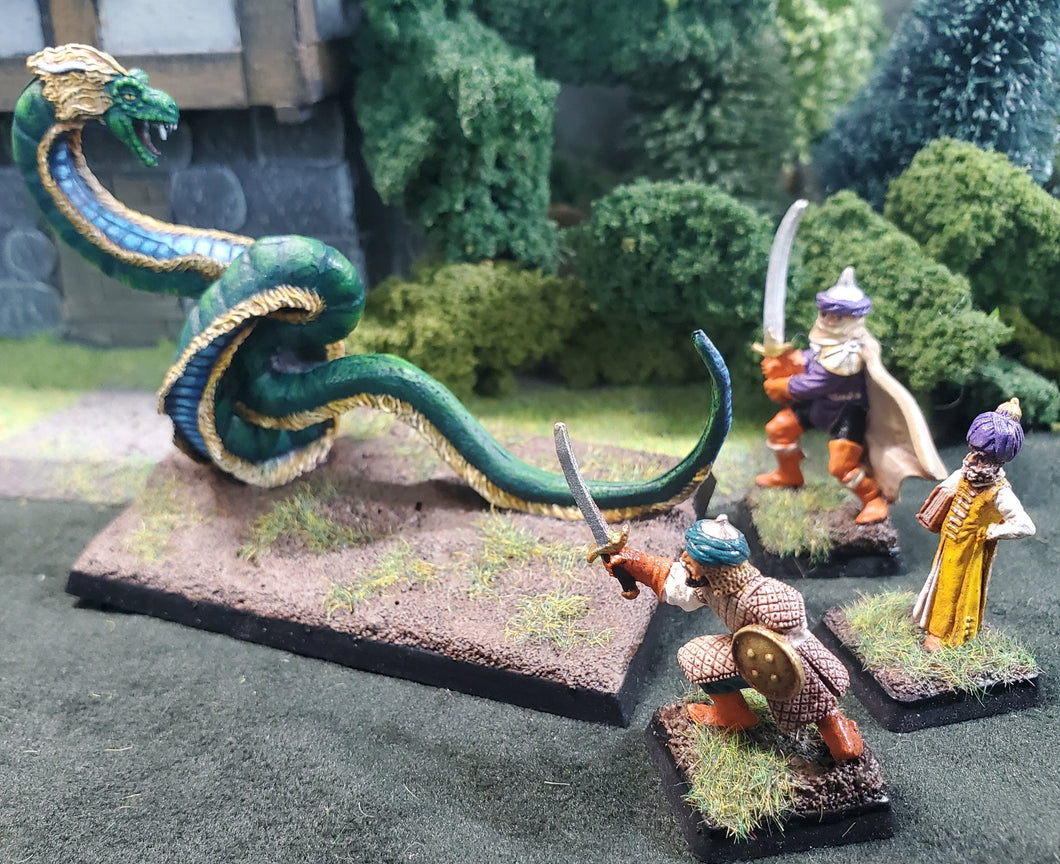 999-1503:  Giant Serpent Encounter