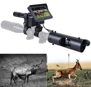 "DIY Digital Night Vision Scope Camera with 5"" Portable Display Screen"