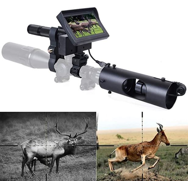 DIY Digital Night Vision Scope Camera with 5