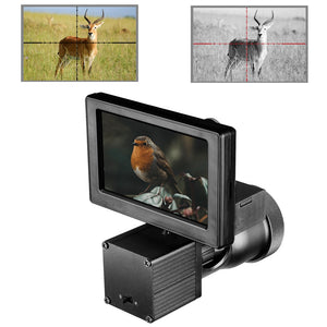 Night Vision HD 1080P 4.3 Inch Display Scope Camera