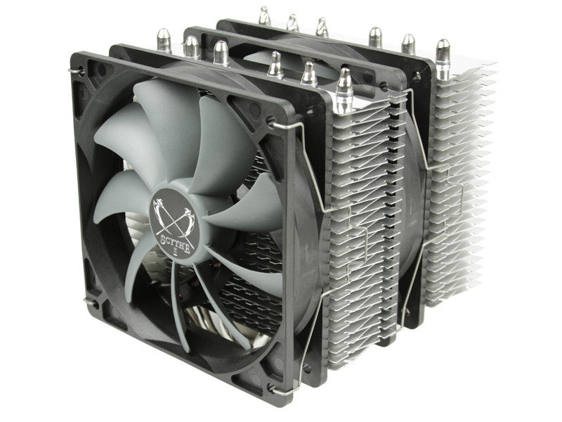 New Product: Scythe FUMA Dual Fan  CPU Cooler SCFM-1000