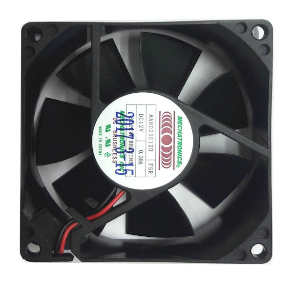 New item: Mechatronics Extra High Speed 80 x 25mm 12V Fan #MA8025E12D-FSR