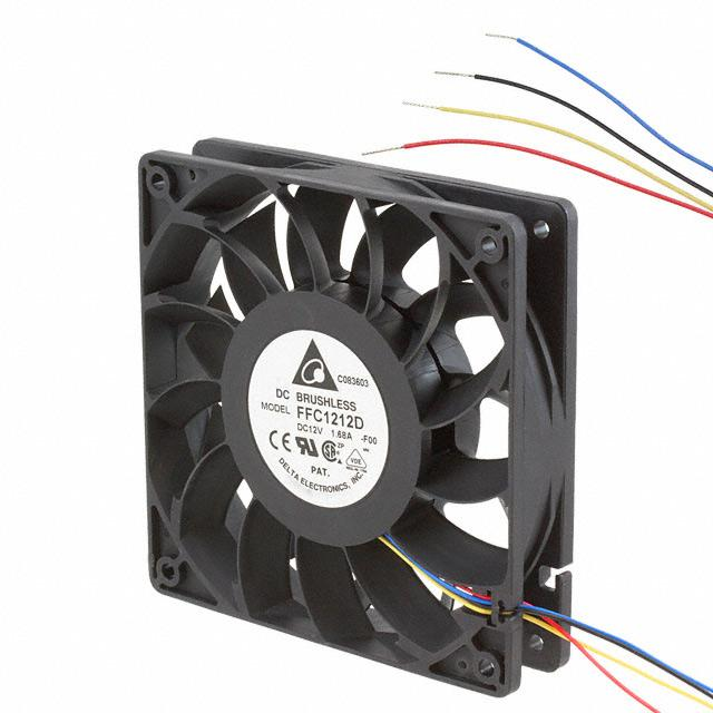 Delta 120x25mm FC1212D-PWM High-Quality Brushless DC Air Cooling Fan