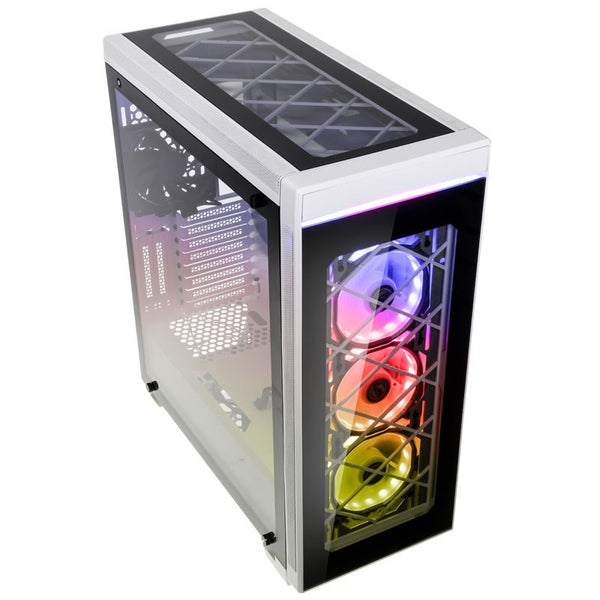 Now Available Lian Li Alpha 550W White Case
