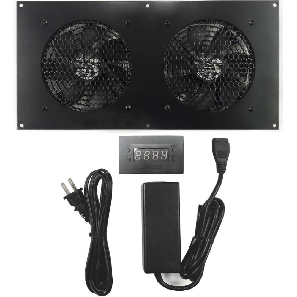 Pro Temperature Controlled (User Programmable) Cooling Fan Kit