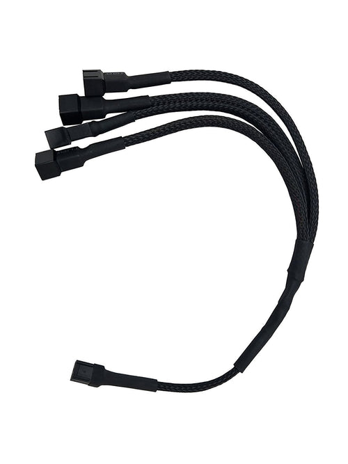Coolerguys 3 pin fan (1 to 4) Splitter - Coolerguys