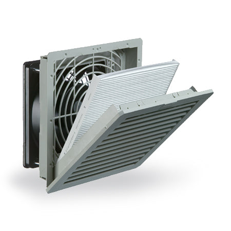 "Pfannenberg PF 32000 4.0 8"" Nema 12 Filter Fan 11632154055 - Coolerguys"