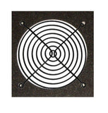 120mm Black Fan Grill / Guard