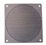 120mm Steel Mesh Filter Grill diameter hole, Black or Silver