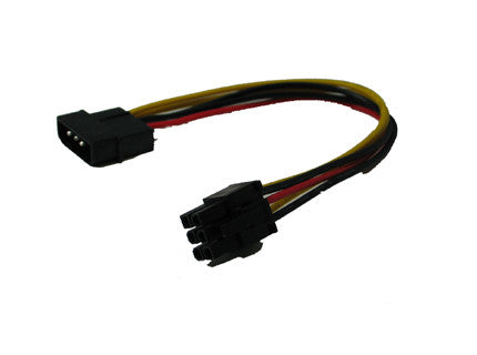 12v 4pin Molex to 6Pin PCI-E Adapter Model, FC46-8 - Coolerguys
