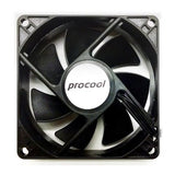 ProCool 80x25mm 3Pin 12V Thermistor Fan # SXT80