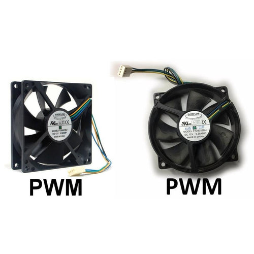 Everflow 92x92x25mm 12 Volt PWM Fan-F129025BU