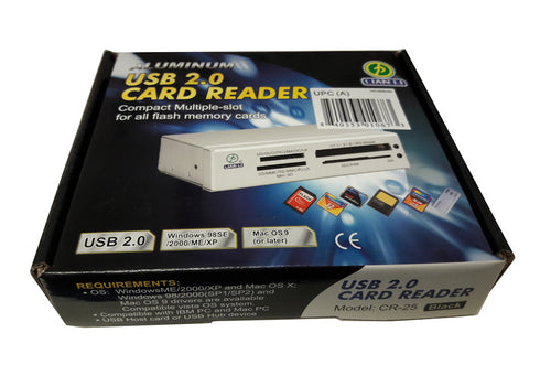 Lian Li CR-25  20 in 1 card reader Black