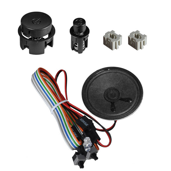 Lian Li Power Reset Button Kit #PT-SK09B / Black
