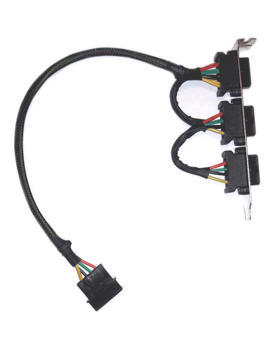 PCI Molex 4 pin splitter transfer panel OK303