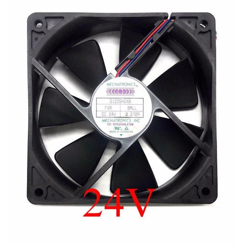 Mechatronics 120x120x25mm 24 Volt High Speed Fan G1225H24B-FSR