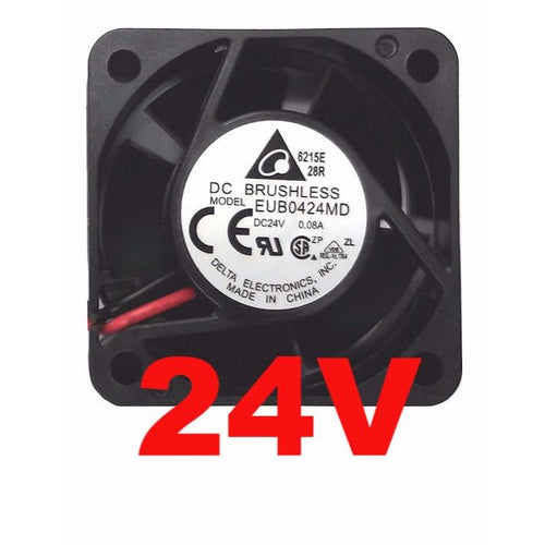 Delta 40x40x20mm 24 Volt Fan Bare Wire EUB0424MD