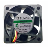 Sunon 50x50x15mm Med speed 12 volt fan 3 wire/3pin connector # KDE1205PHV2