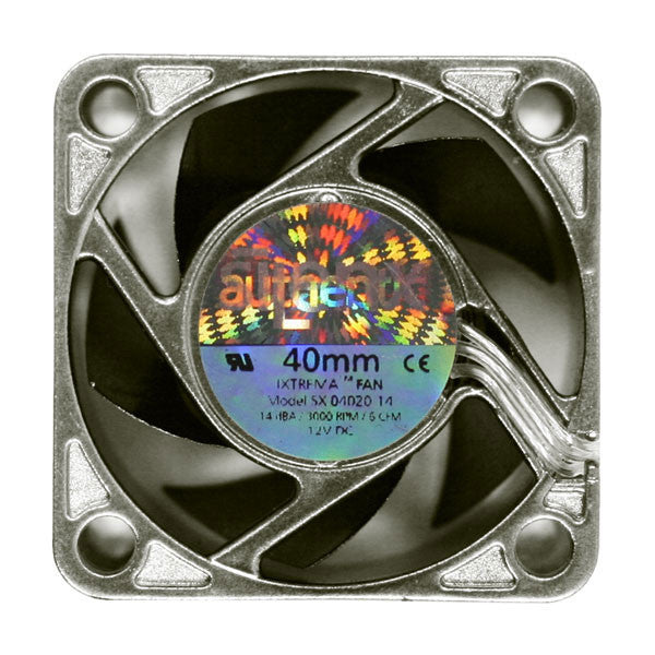 SilenX Ixtrema Pro 40mm x 20mm 12 volt fan # IXP-13-14 - Coolerguys