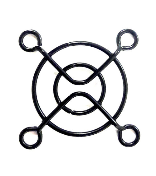 40mm Wire Fan Grill Guard (Black) - Coolerguys