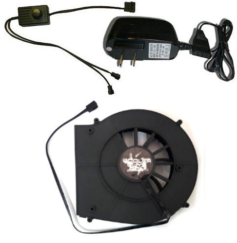 Coolerguys 120mm Blower Fan Component Cooler with Manual Speed Control - Coolerguys