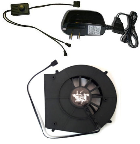 Coolerguys 120mm Blower Fan Component Cooler with Manual Speed Control (Lite)