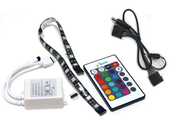 LOGISYS RGB LED Strip and IR Control #LDXRM12C
