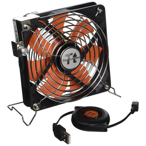 Thermaltake Mobile 120mm AF0007 Case Fan. USB Powered, Adjustable Speed Fan