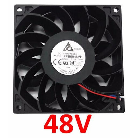 Delta 92x25mm 24 volt High speed fan # FFB0948VH