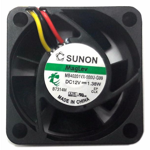 Sunon 40x40x20mm 3 Pin Fan MF40201VX-1000U-G99 - Coolerguys