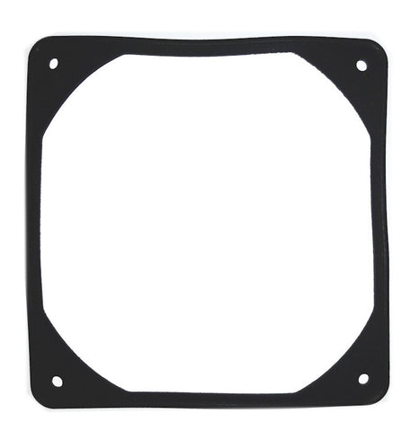 Coolerguys 120mm Anti-Vibration Rubber Fan Gasket -12FWK  Black