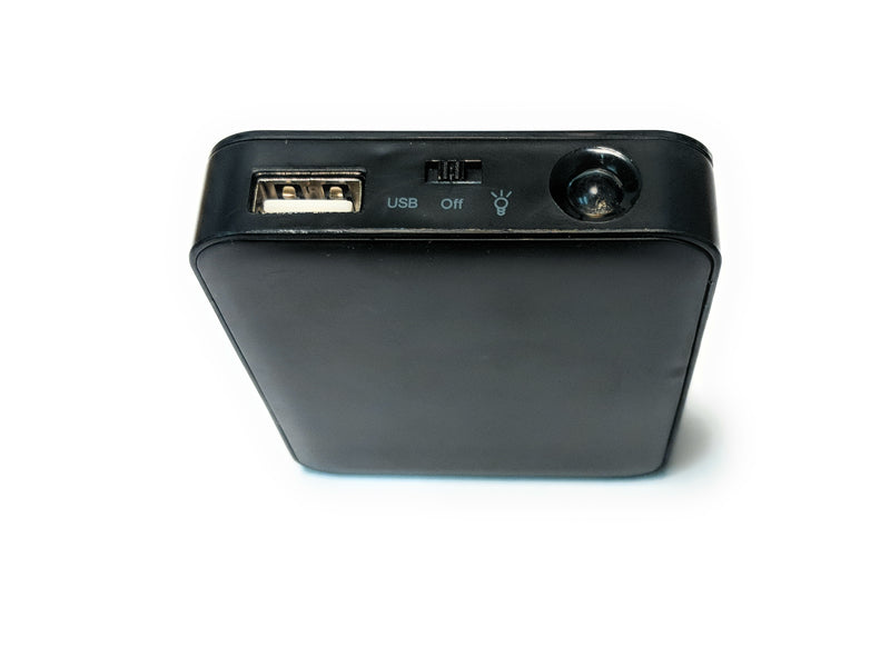 USB Four AA Battery Bank Charger and Portable Power Supply - Coolerguys