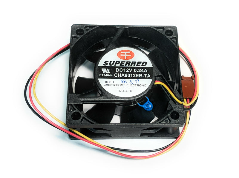 Superred 60mm (60x60x23) Thermistor Fan CHA6012EB-TA - Coolerguys