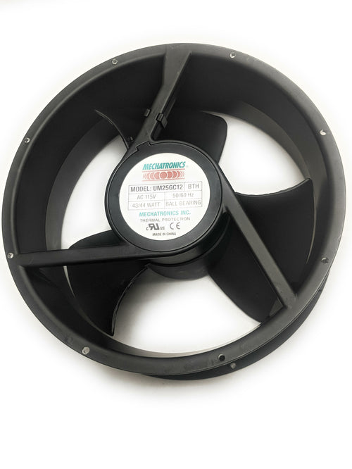 "Mechatronics 10"" / 254mm (254x89mm) Round Frame High Speed Metal Fan UM25GC12‐BTHR"