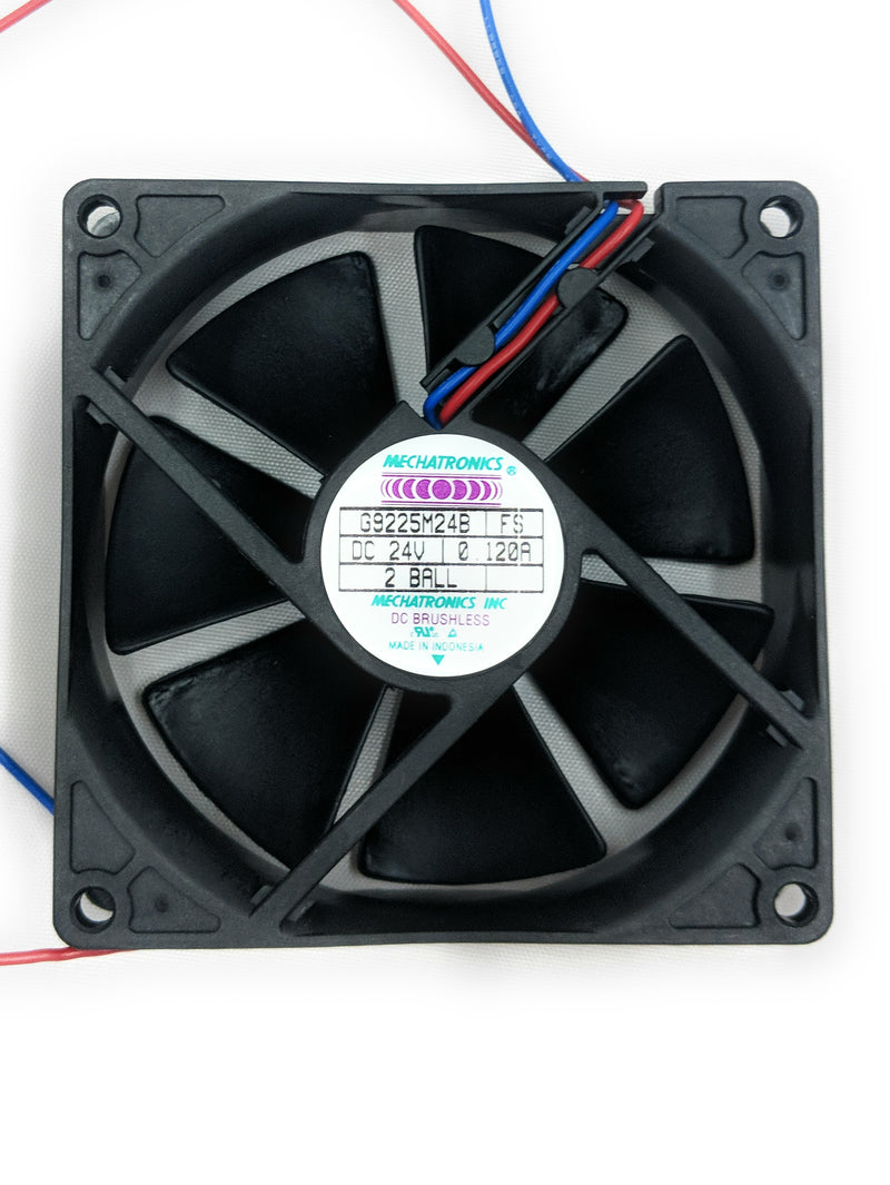 Mechatronics 92mm (92x92x25) Medium Speed Ball Bearing Fan G9225M24B‐FS - Coolerguys