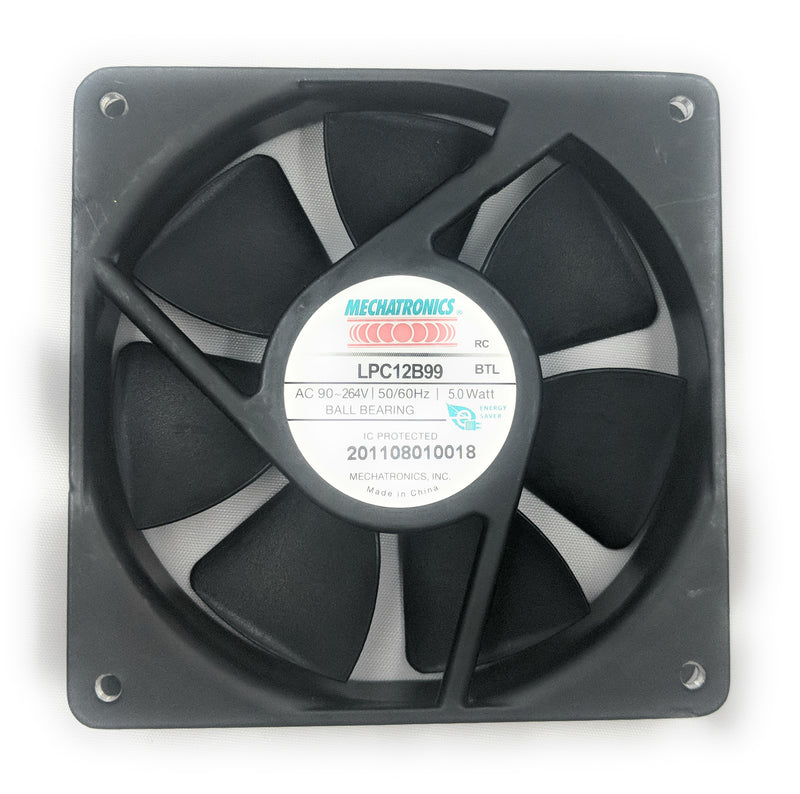 Mechatronics 120mm (120x120x25) High Speed Fan LPC12B99‐BTLR - Coolerguys