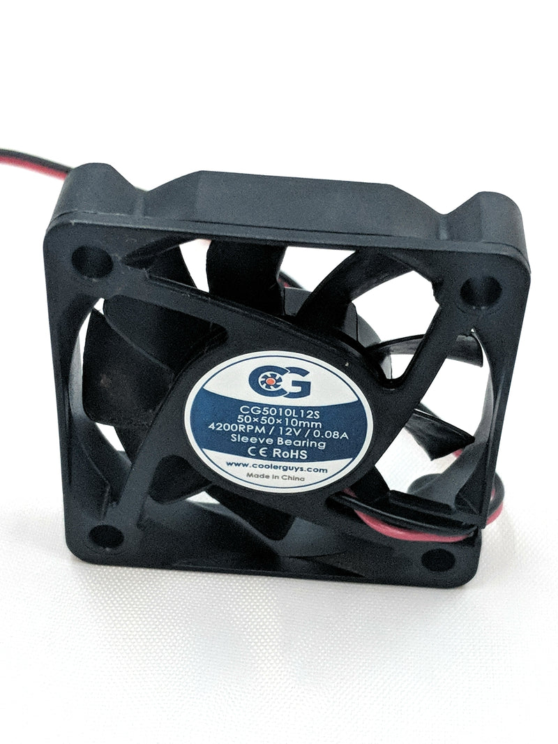 Coolerguys 50mm (50x50x10) 12v Fan CG5010L12S for SY501012M - Coolerguys