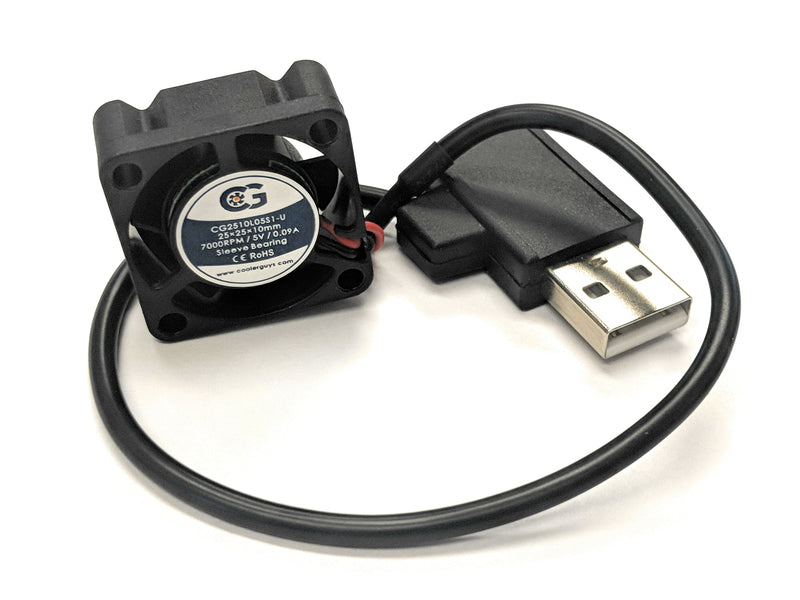Coolerguys 25mm (25x25x10) USB Fan - Coolerguys