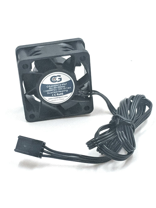 Coolerguys 40mm (40x40x20) Ultra High Speed IP67 12v Fan CG4020H12-IP67 - Coolerguys