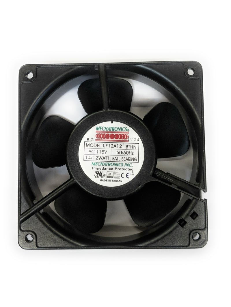 Mechatronics 120mm (120x120x38) 115V AC High Speed IP55 Rated Fan UF12A12-BTHNR - Coolerguys