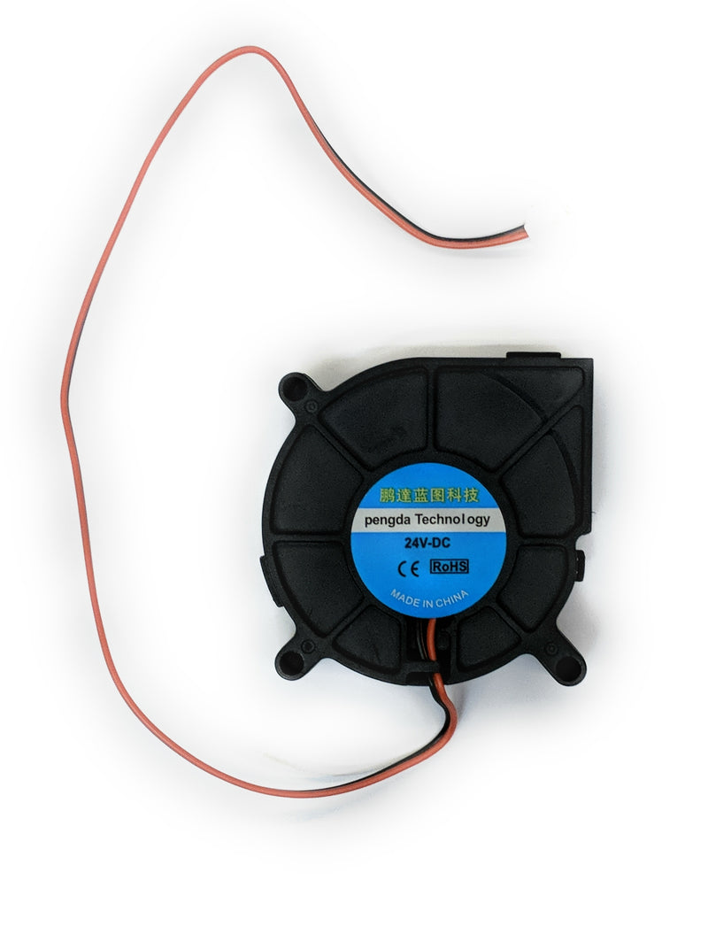 60x15mm 24v Blower Fan with 2pin connector - Coolerguys