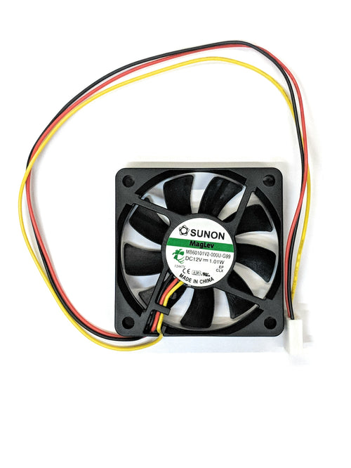 Sunon 60mm (60x60x10mm) Medium Speed 12v 3pin Fan Model MB60101V2-000U-G99 - Coolerguys