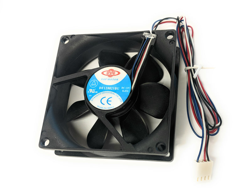 Dynatron 80x80x25mm 12V PWM Ultra High Speed Fan DF128025BU-PWMG - Coolerguys
