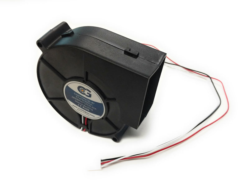 Coolerguys 97mm (97x95x33) 12v Blower Fan CG9733M12S-BY - Coolerguys